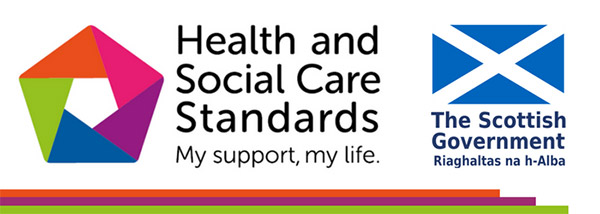 Health and Social Care Standards logo
