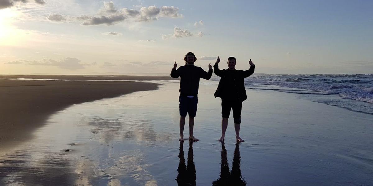Alex's Holy Island beach walk