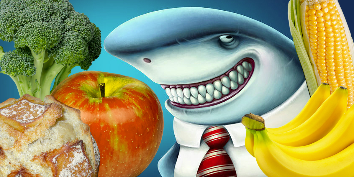 shark apple